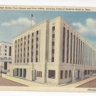 PA Philadelphia US Court House and Post Office Vintage Linen Postcard
