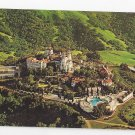 CA Hearst Castle San Simeon Aerial View Vintage 1966 Postcard