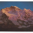 Jungfrau Switzerland Swiss Alps Mountain Vintage Postcard 4X6