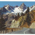 Switzerland Susten Pass Funffingerstocke Swiss Alps Vintage Postcard 4X6