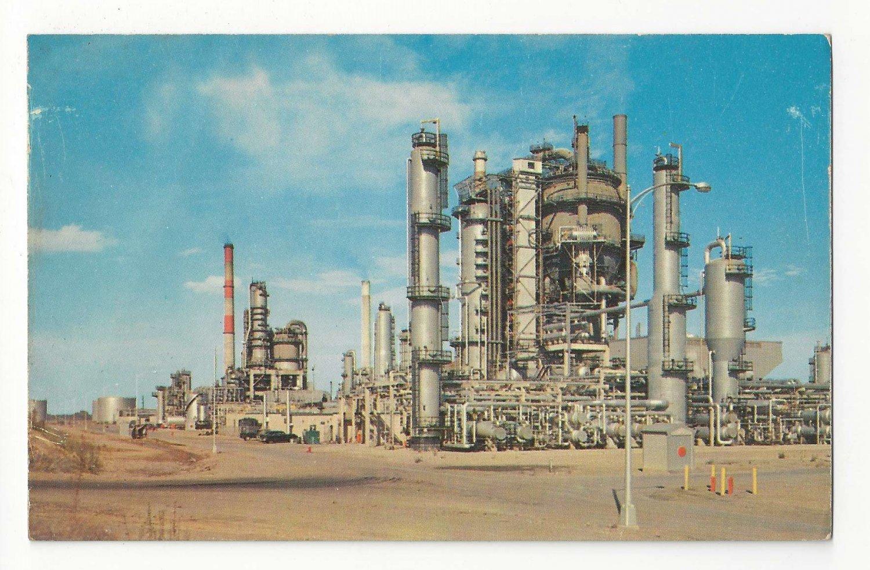 DE Delaware City Tidewater Oil Co Plant Refinery Industry Postcard