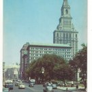 CT Hartford State Capitol Main Street Travelers Insurance Tower Postcard