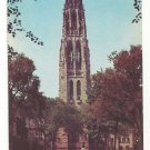 CT New Haven Yale University Harkness Tower Vintage Postcard