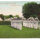 Vintage Military Postcard Dress Parade West Point Academy NY