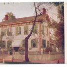 Springfield IL Abraham Lincoln's Old Home Vtg Hammon Postcard 1917  Metrocraft