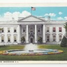 Washington DC White House Vintage 1928 Postcard