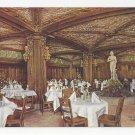 Chicago Hotel La Salle Blue Fountain Room Vintage Advertising Postcard