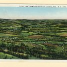NY East Windham Valley View Catskills Vintage New York Postcard