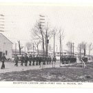 WWII Reception Center Fort Meade MD Vintage Military Postcard
