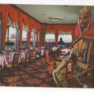 NY Crown Room Sheraton Motel Hotel New York City Knight Vtg Postcard