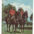 Royal Canadian Mounted Police Vtg Postcard
