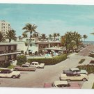 Fl Palm Beach Holiday Inn Cars Vtg 1960s Postcard
