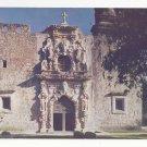 Mission San Jose San Antonio Texas Vintage Postcard