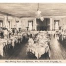 PA Gwynedd Wm Penn Hotel Dining Ball Room Vintage Advertising Postcard