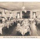 PA Gwynedd Wm Penn Hotel Dining Ball Room Vintage Advertising Postcard