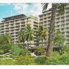 Hawaii Reef Towers Hotel Waikiki Vintage Postcard