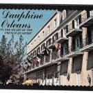 LA Dauphine Orleans Hotel Motel French Quarter New Orleans Vintage Postcard