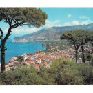 Italy Sorrento Panorama from Pine Hill Vintage Postcard 4X6