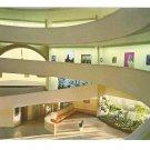 Guggenheim Museum Main Floor & Ramp Frank Lloyd Wright Vintage Postcard 4X6
