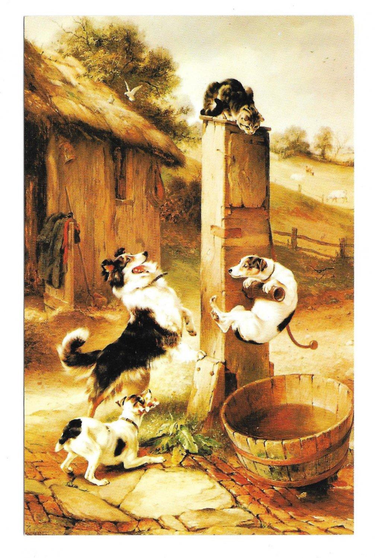 Baffled Walter Hunt Cat Dogs Haussner's Restaurant ...