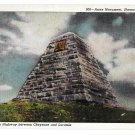 WY Ames Monument Sherman Hill Vtg Sanborn Postcard Wyoming Union Pacific RR