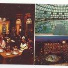 Washington DC Hotel America Multivew Domed Swimming Pool Vtg Postcard