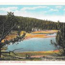WY Yellowstone Park Firehole Lake Vtg Asahel Curtis NPRy Postcard Wyoming
