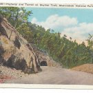 VA Highway Tunnel Skyline Trail Shenandoah National Park Vtg Postcard Virginia