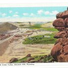 WY Dale Creek Valley Sherman Hill Vtg Postcard Wyoming