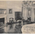 VA Mount Vernon River Room Geo Washington Home Vtg Almours Securities Postcard