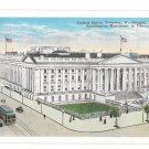 Washington DC US Treasury Vtg Garrison Toy & Novelty Postcard Trolleys