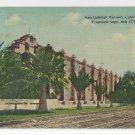 San Gabriel Mission California Western Publishing Novelty ca 1910 Postcard