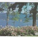 VT Lake Dunmore Vermont from Sunset Lodge Green Mountains Vintage Postcard