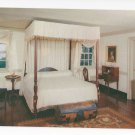 VA Mount Vernon Interior George Washington's Bedroom Vintage Postcard