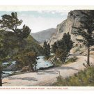 WY Yellowstone Park Gardiner Canyon and River Vtg Haynes Postcard Wyoming