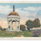 MD Antietam Maryland Monument Vintage Curteich Postcard