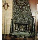 PA Philadelphia Old Original Bookbinders Restaurant Fireplace Vtg Postcard