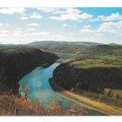 PA French Azilum Susquehanna River Towanda Vtg Postcard