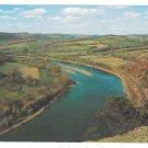 PA Susquehanna River Wyalusing Rocks Vtg Postcard