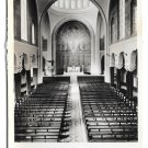 RPPC Ireland Cork Church of St Francis Interior Vintage Real Photo Postcard