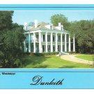 Natchez Mississippi Dunleith Mansion Vtg Postcard 4X6