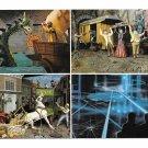 Epcot Center Walt Disney Future World of Motion Pre-Opening 1981 Vtg Postcard 4X6