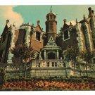 Walt Disney World Haunted Mansion Vtg Postcard
