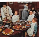 VA Williamsburg Kings Arms Tavern Family Dining Vtg Postcard
