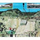 Barre Vermont Rock of Ages Granite Quarry Vtg Postcard