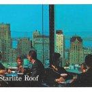 CA San Francisco Sir Francis Drake Hotel Starlite Roof Vtg Postcard
