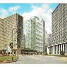 PA Pittsburgh Gateway Center Hilton Hotel Vtg Postcard