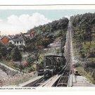 Mauch Chunk PA Mt Pisgah Plane Switchback Railway Vtg Postcard