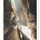 Switzerland Alps Taminaschlucht bei Ragaz Vintage UDB Postcard