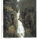Switzerland Alps Geissbach Falls Waterfall Vintage UDB Postcard